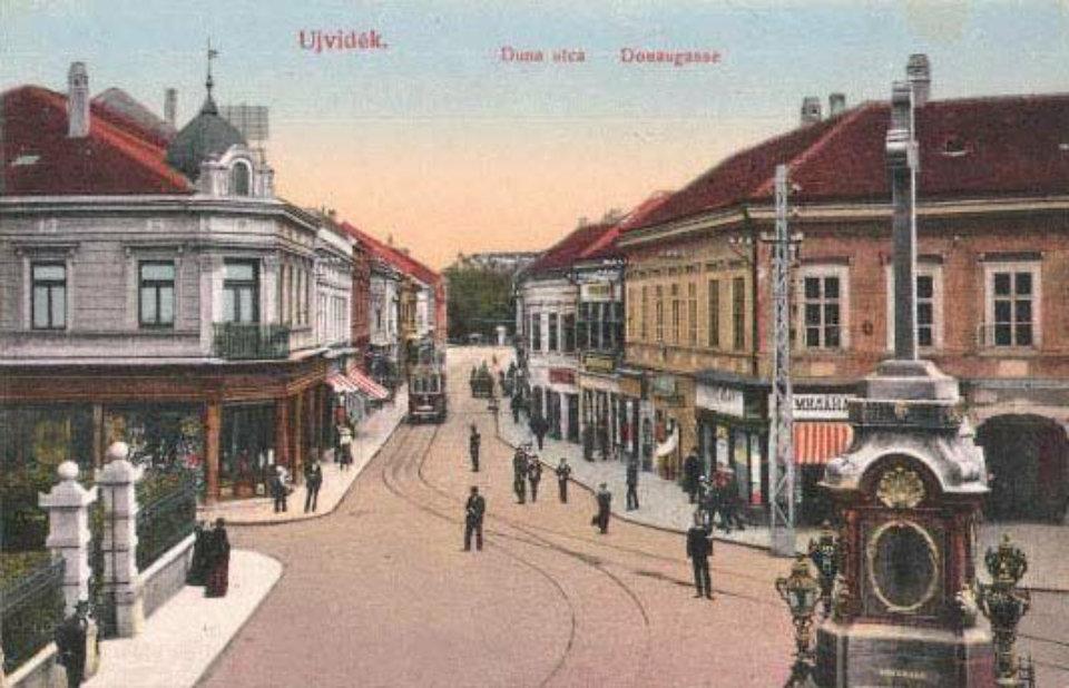 stara dunavska ulica novi sad