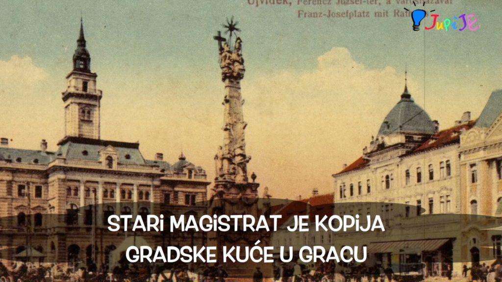 Znamenosti Novog Sada: Gradska kuća, ulica kralja Aleksandra, Zmaj Jovina, Dunavska ulica i park