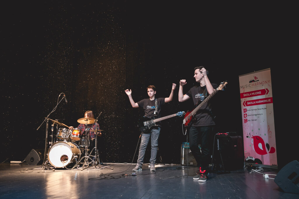Nastup škole Music Harmony